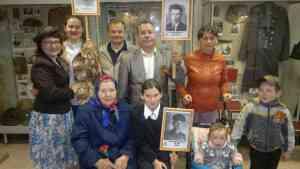 9 мая семья Каревых