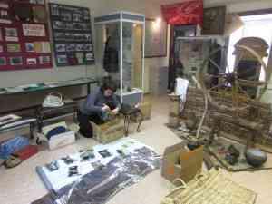 Подготовка выставок музея к музейному марафону