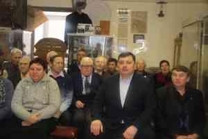 Встреча с воинами афганцами и членами семей погибших